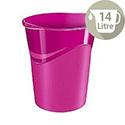 CEP Pro Gloss Office Waste Desk Bin Pink 280G