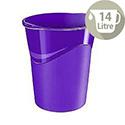 CEP Pro Gloss Office Waste Desk Bin Purple 280G