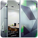 Fusion CLEAR LINE 75mm & 100mm Frameless Double Glazed Partition System