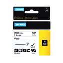 Dymo 24Mm Black On White Vinyl 1805430