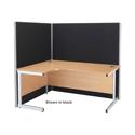 Jemini Floorstanding Screen 1800mm x 1600mm Blue  KF73947