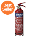 IVG Fire Chief Dry Powder 1kg Fire Extinguisher Refillable for Class ABC Guardian