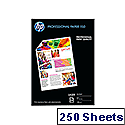 HP A4 White Professional Glossy Laser Paper 150gsm (Pack of 250)