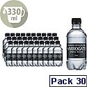 Harrogate Spa Spring Bottled Water Still PET 330ml Pack of 30