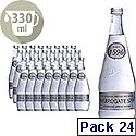 Harrogate Spring Glass Bottled Water Sparkling 330ml Pack of 24