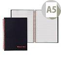 Black n' Red A5 Wirebound Smart Book 100080192