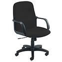 Jemini Managers Chair With Arms Star Leg Charcoal KF03429