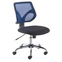 Jemini Medium Mesh Back Task Chair Blue KF73603