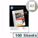 HP A3 Professional Inkjet Paper Matt 120gsm 100 Sheets Q6594A