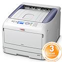 OKI C831dn Colour Laser Printer A3 Duplex Network