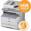 OKI MC362DNF A4 Colour 4-in-1 Laser Printer
