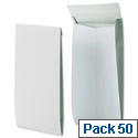 Gusset envelopes pack 50