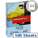 A4 Canon Medium Blue Coloured Multifunctional Paper 80gsm 500 Sheets