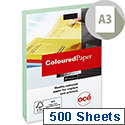 Canon A3 Light Green Coloured Paper Multifunctional 80gsm 500 Sheets