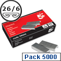 26/6 Staples Pack 5000 5 Star