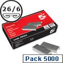 26/6 Staples Pack 5000 5 Star