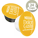 Nescafe Latte for Dolce Gusto Machine PK48 Capsules - Makes 24 Drinks