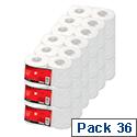 5 Star Toilet Tissue Pack 36 320 Sheets Toilet Paper Rolls White