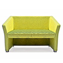 Jill Two Seater Sofa Green