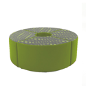 Link Quadrant Stool Green