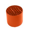 Link Radius Circular Stool Orange