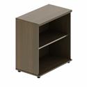 Quando Open Bookcase 820H x 432D x 806W 2 Levels - Chestnut
