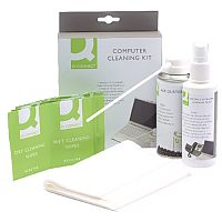 Q-Connect Computer Cleaning Kit 200ml Pack of 1 KF32155
