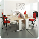 Komo Bench & Call Centre Desking Range