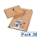 Mailing Box 251x165x60mm Pack of 20 11208