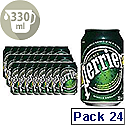 Perrier Sparkling Water 33cl Can Pack of 24 11648958