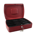 Q-Connect 12 Inch Cash Box Red