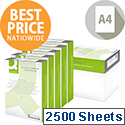 Q-Connect A4 80gsm White Copier Printing Paper Box of 2500 Sheets KF01087