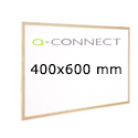 Whiteboard Wooden Frame 600x400mm Q-Connect KF03570