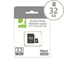 Q-Connect Micro SDHC Card 32GB Class 10 With SD Adaptor KF16013