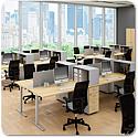 Quadrifoglio Idea Tube Call Centre Desk System