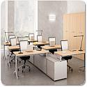 Quadrifoglio Officity X2 Call Centre Desking Range