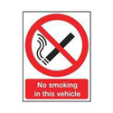 Safety Sign 297x210mm No Smoking PVC Pack of 1 SR72081