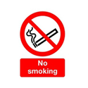 Safety Sign No Smoking A4 Self-Adhesive Pack of 1 ML02079S