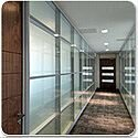 SAS SYSTEM 6000 Double Glazed Re-locatable Office Partitioning System