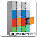 Shock Proof Lockers