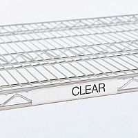 Label Holder Clear