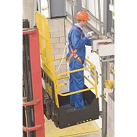 Access Safety Platforms Folding Safety Access Platform Height 1.88m Yellow