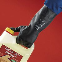 Black Extra Gloves Size 6.5 Pack of 12