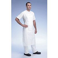 Disposable Poly Apron Knee Length Pack of 10