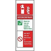 Self Adhesive Vinyl Hydrospray Sign