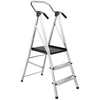 Large Platform Step 3 Tread Stool Height 660mm Capacity 150Kg