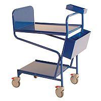 Blue Order Picking Trolley