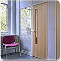 SAS SYSTEM 2000 Single & Double Glazed Demountable Office Partitioning System