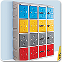 Ultra Box Plastic Lockers