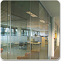Tenon VITRAGE Framleess Double Glazed Office Partitioning System